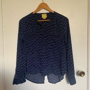 Maeve Buttons Down shirt size 4